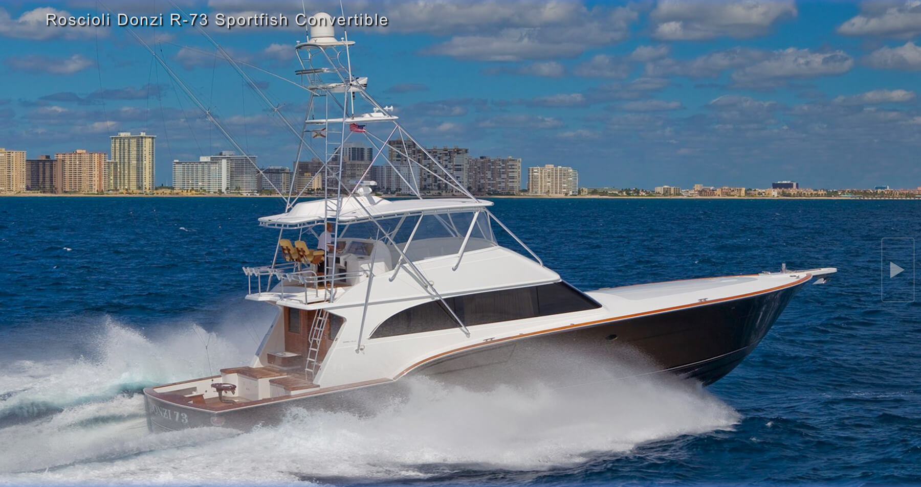 Donzi yachts for sale